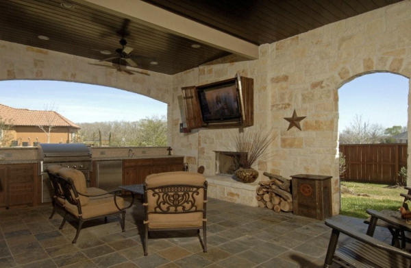 Outdoor Kitchen Cost Increte Of Houston Custom Outdoor Kitchens