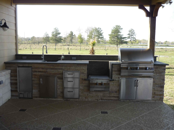 Katy Outdoor Kitchen Designs