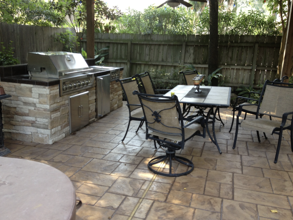 Time for Some Privacy in Your Outdoor Kitchen