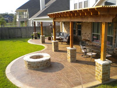 Charmant Outdoor Fire Pit Design Ideas