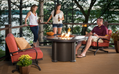 Why a Fire Pit Table Is an Excellent Choice in Outdoor Heating