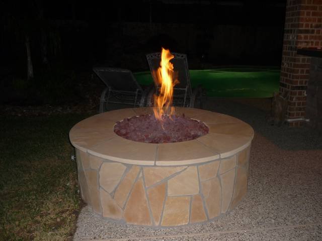 Fire pit 3 - - Fire Pit Gallery - Increte Of Houston